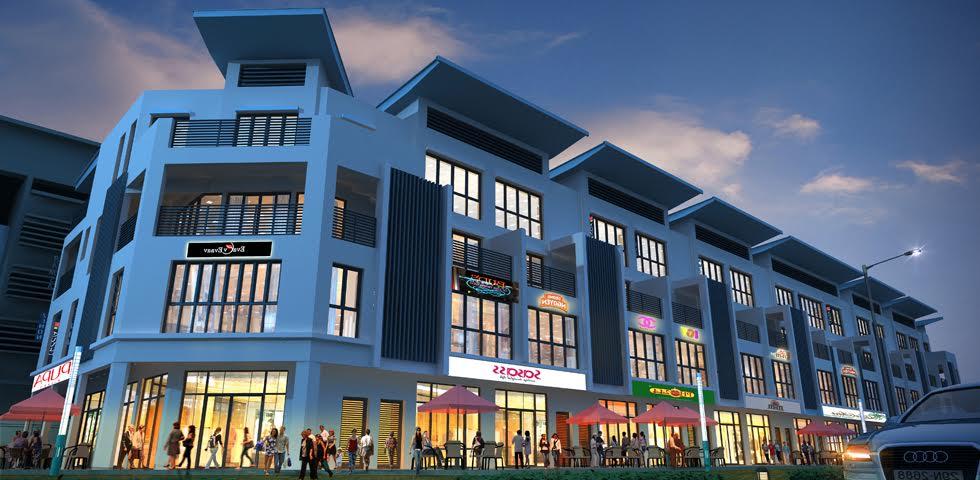 Thông tin nhà phố thương mại - Shop house There central