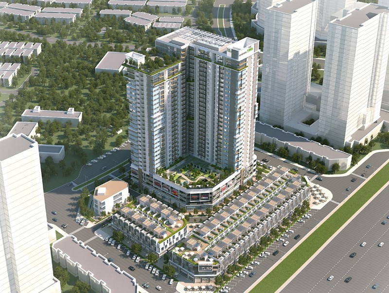Gamuda Land: Ra mắt chung cư The Three Residence Gamuda Gardens